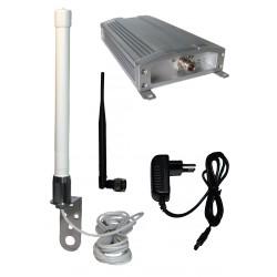 Pack répéteur bi-bandes GSM 900MHz et 3G (2100MHz) pour voix et data.