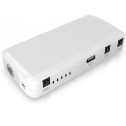 Batterie de secours de voiture Multifonctions 5V.(USB), 12V., 19V., torche.
